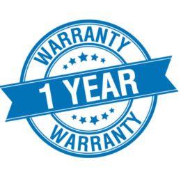 1-Year Warranty with MDr-xb450AP headphone