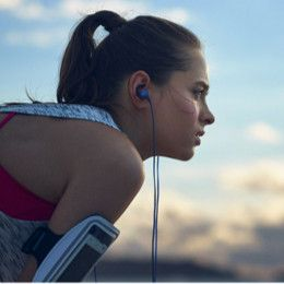 Listen music even in toughest workout