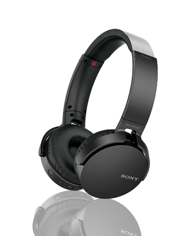 Sony MDR-XB650BT Extra Bass Wireless Bluetooth Headset With Mic zoom image