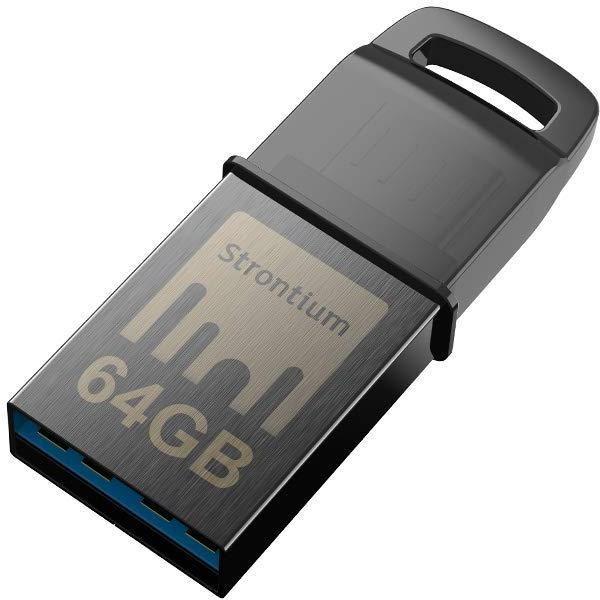 Strontium Nitro 64gb Otg Pen Drive zoom image
