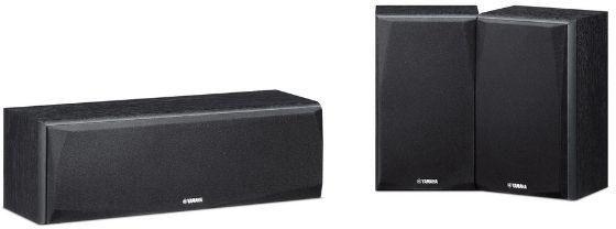 Yamaha NS-P51 BookShelf Speaker System (2 Surround and 1 Center) zoom image