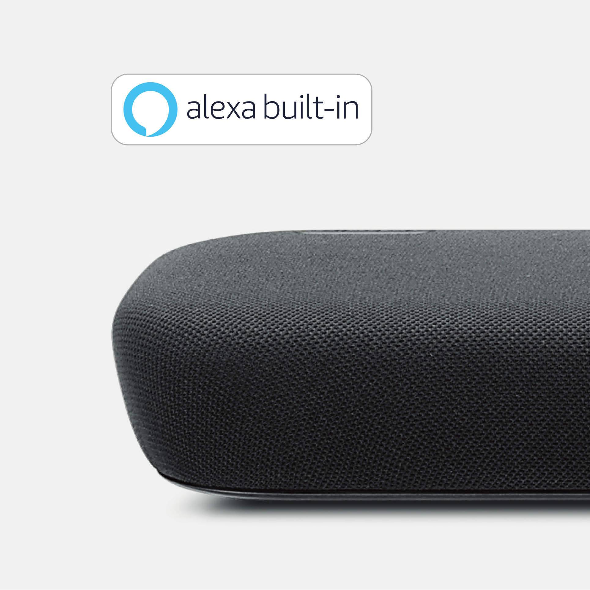 Preinstalled Amazon Alexa
