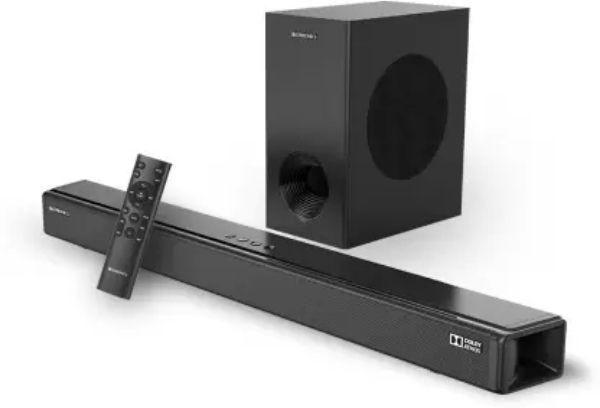 Zebronics Zeb-Juke Bar 9800DWS Pro Dolby Atmos With Wireless Subwoofer 450 W Bluetooth Soundbar  zoom image
